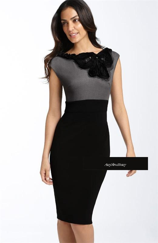 Perfect Sexy Women39s Formal DressElegant All Match Ladies39 Casual Dress